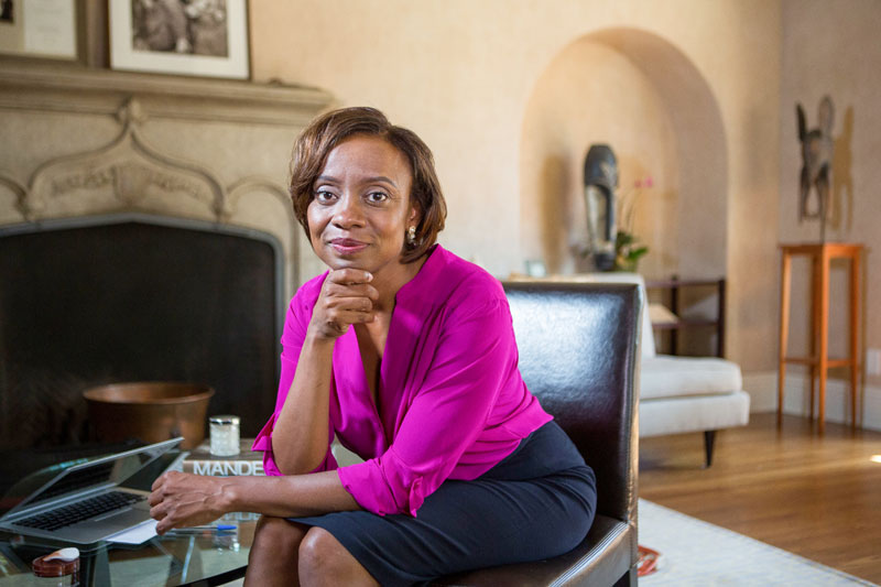 Stanford psychologist Jennifer Eberhardt was awarded a MacArthur Foundation 'genius grant' for her research on racial profiling. (Courtesy of the MacArthur Foundation)