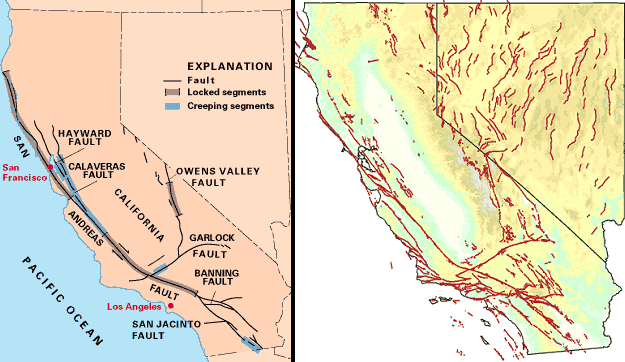 State fault maps