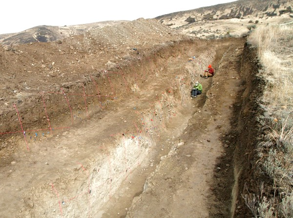 Large trench project