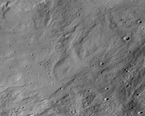 Interesting terrain on Vesta