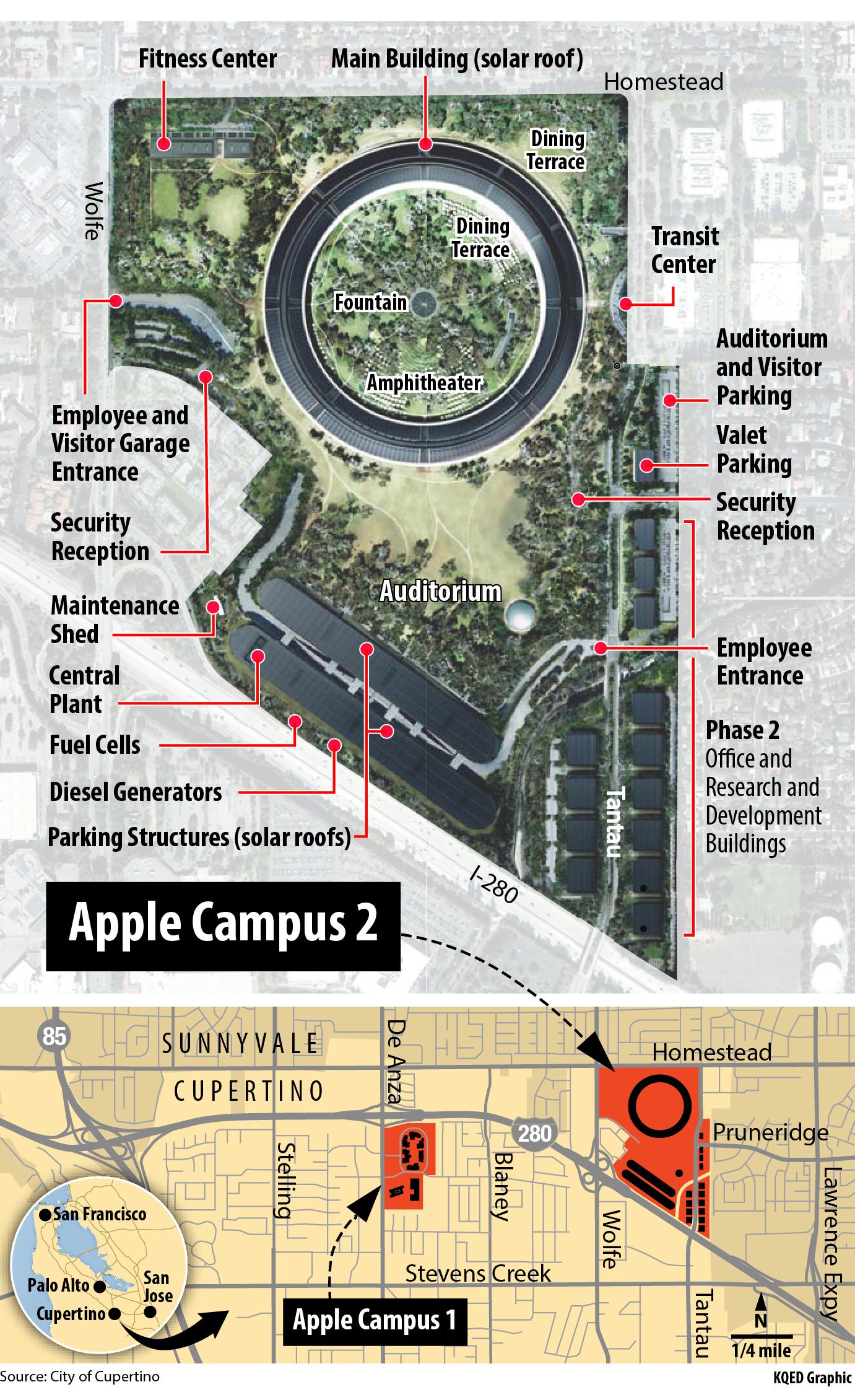 Apple New Head Office