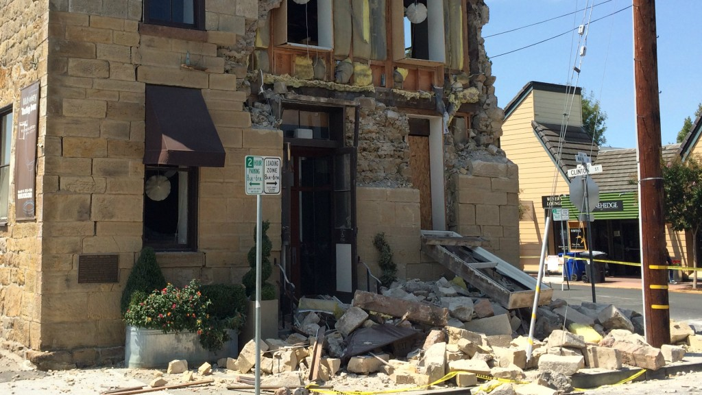 After the Napa quake, structural engineers more than 1,800 thousand damaged buildings for prohibited or restricted access. (Photo: Erol Kalkan/USGS)