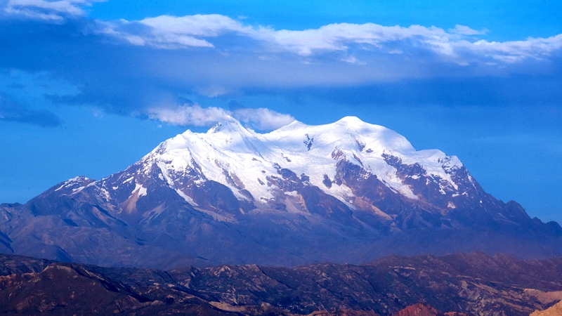 Nevado Illimani, Bolivia