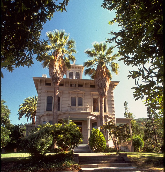 This Victorian mansion was the home of John Muir's father-in-law, John Strentzel. The Muir family moved in after Strentzel died. (National Park Service)