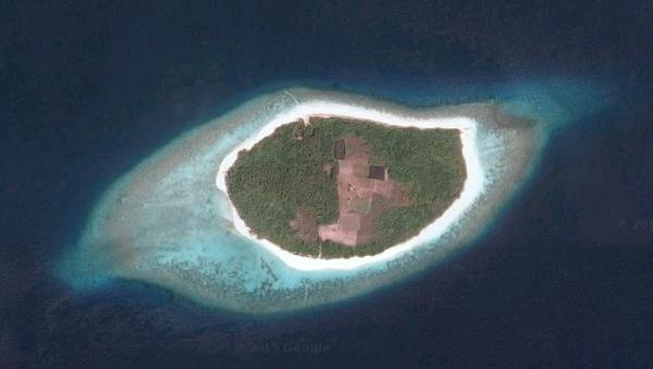 Vakkaru island, Maldives