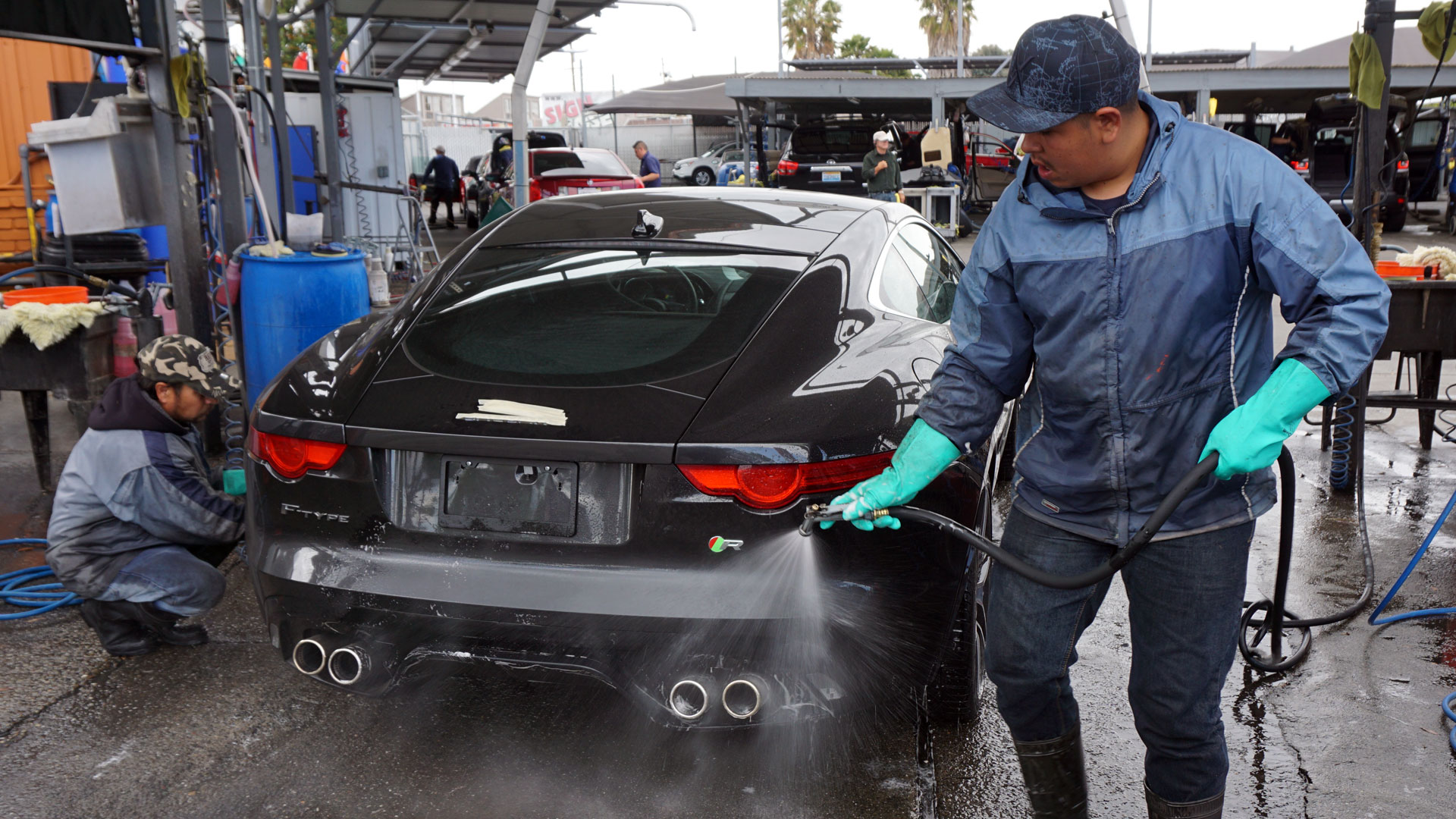 How To Wash Car In A Drought