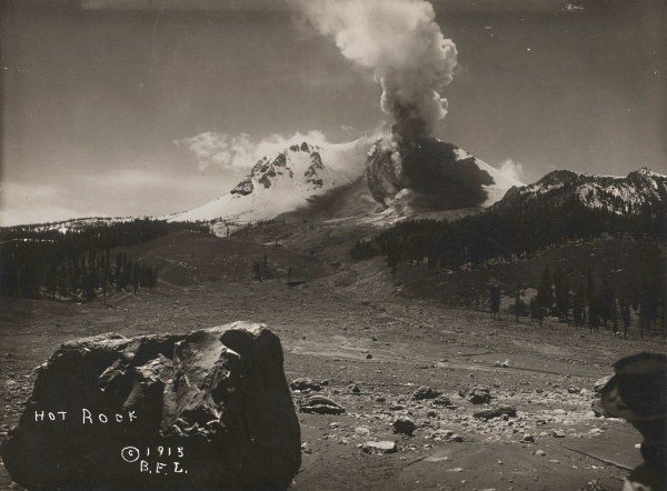 Hot Rock and the Devastated Area, May 22, 1915