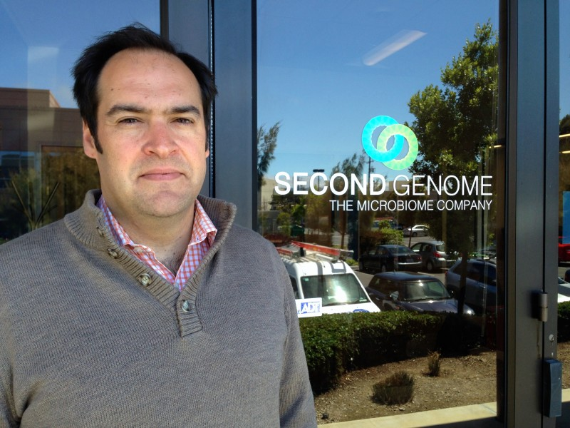 Peter DiLaura is CEO of Second Genome in South Francisco.