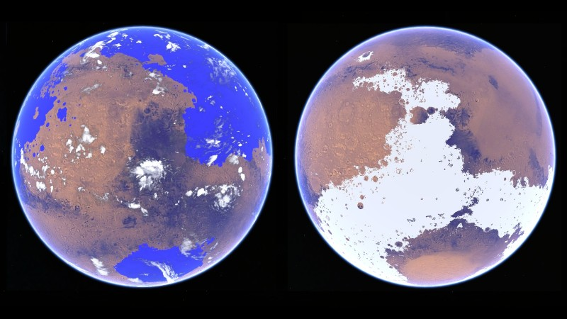 Warm Mars and Cold Mars