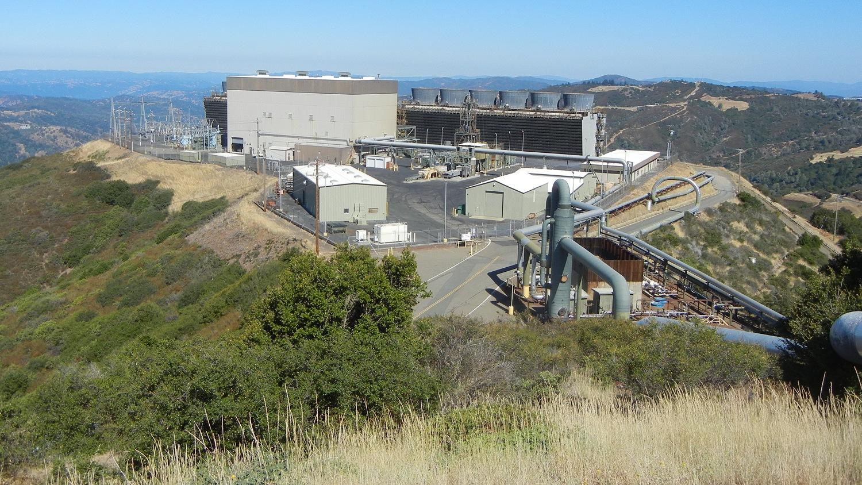 Geysers power plant
