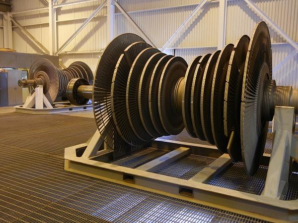 Spare geothermal turbines