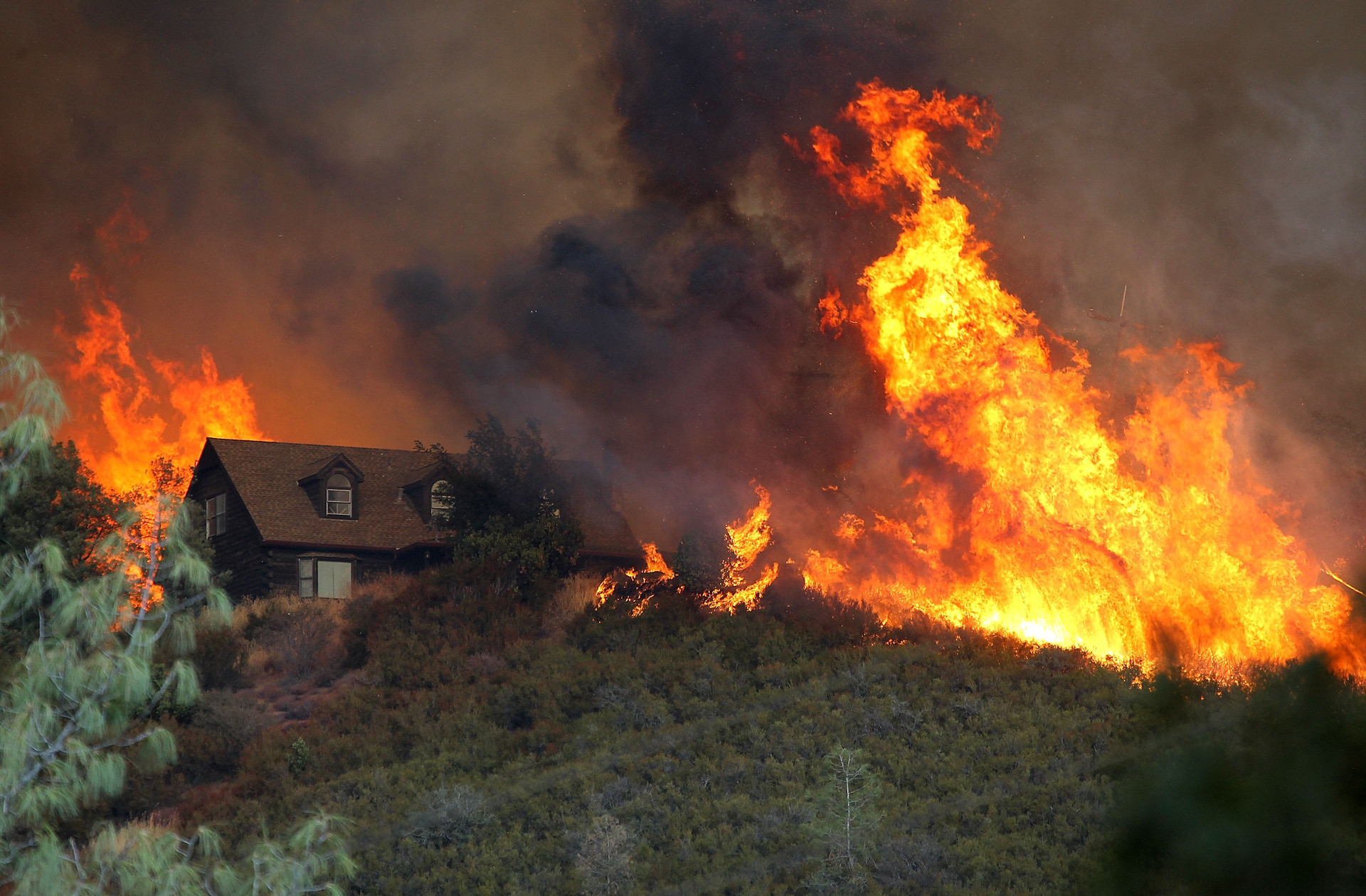 Characterized by its rapid growth, the Rocky Fire claimed nearly 70,000 acres north of the Bay Area in August.