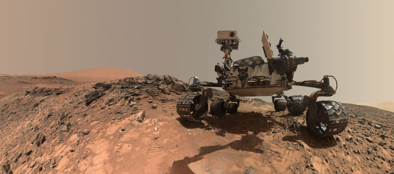 NASA's Curiosity rover takes a selfie on the surface of Mars. NASA/JPL-Caltech/MSSS