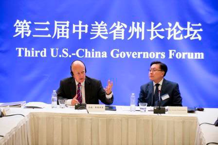 The Chinese province Sichuan signed Governor Brown's international climate agreement in September.