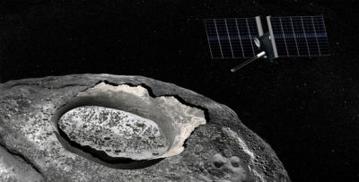 The Psyche mission would explore the large metallic asteroid of the same name--an object whose interior may have been exposed by a collision with another asteroid.