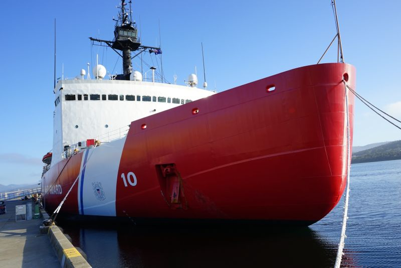 The 40-year-old USCGC Polar Star is the nation's only remaining operational heavy icebreaker.