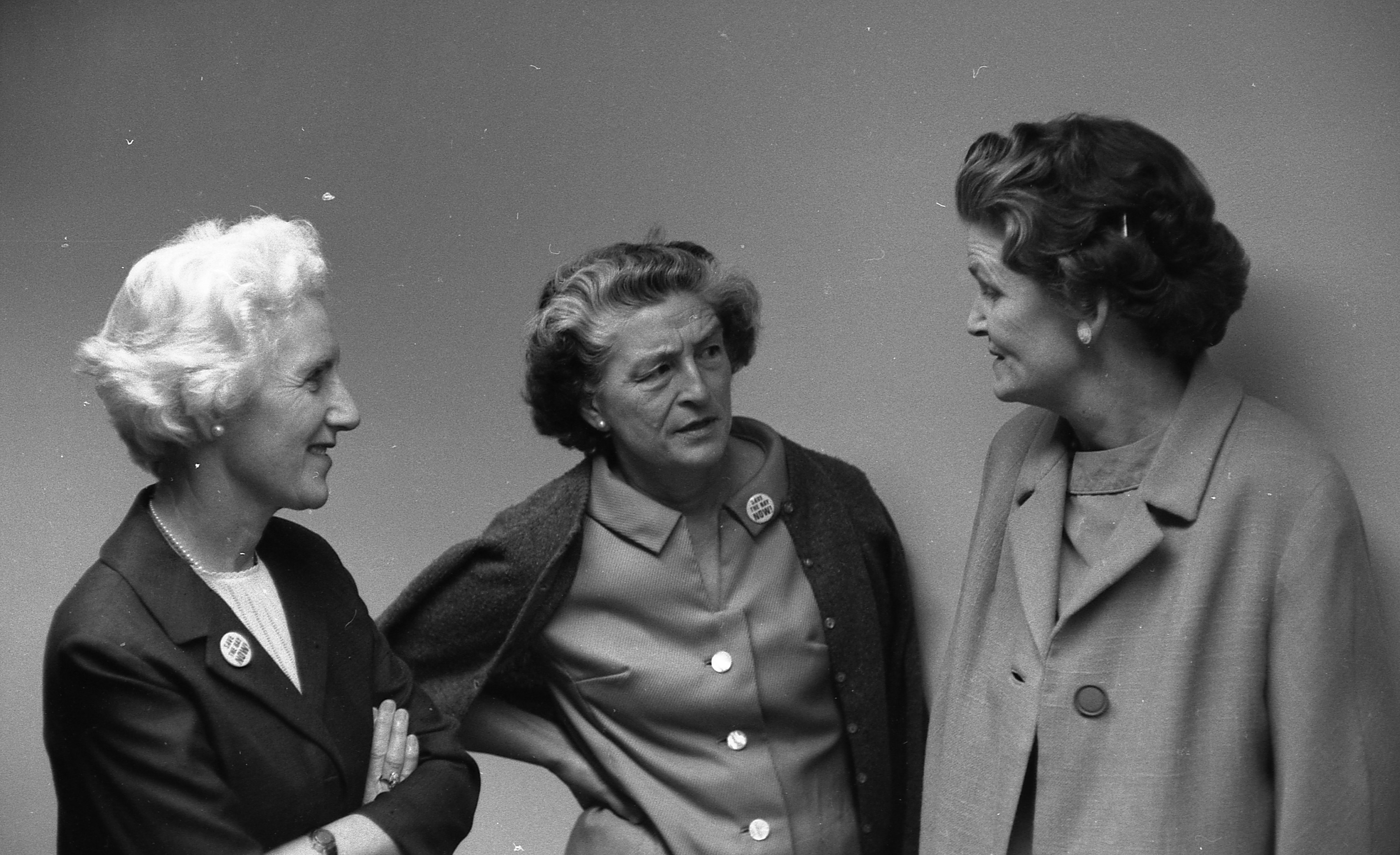 Save the Bay's founders: Esther Gulick, Sylvia McLaughlin, and Kay Kerr.