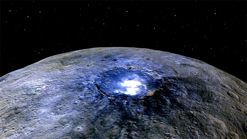Move Over Pluto, Dwarf Planet Ceres Gets an Extreme Close-Up