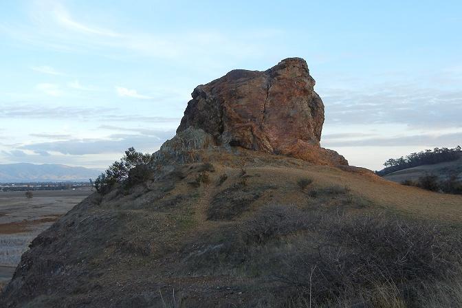 Chert crag, Coyote Hills