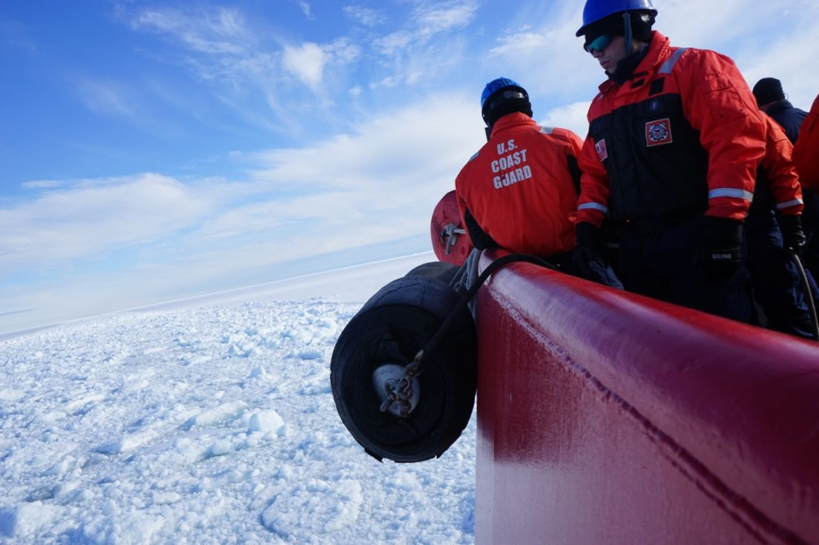 Hope for Supporting Polar Science Brightens at the Bottom of the World