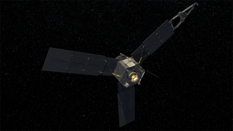 NASA's far-flung solar powered Jupiter probe, Juno.