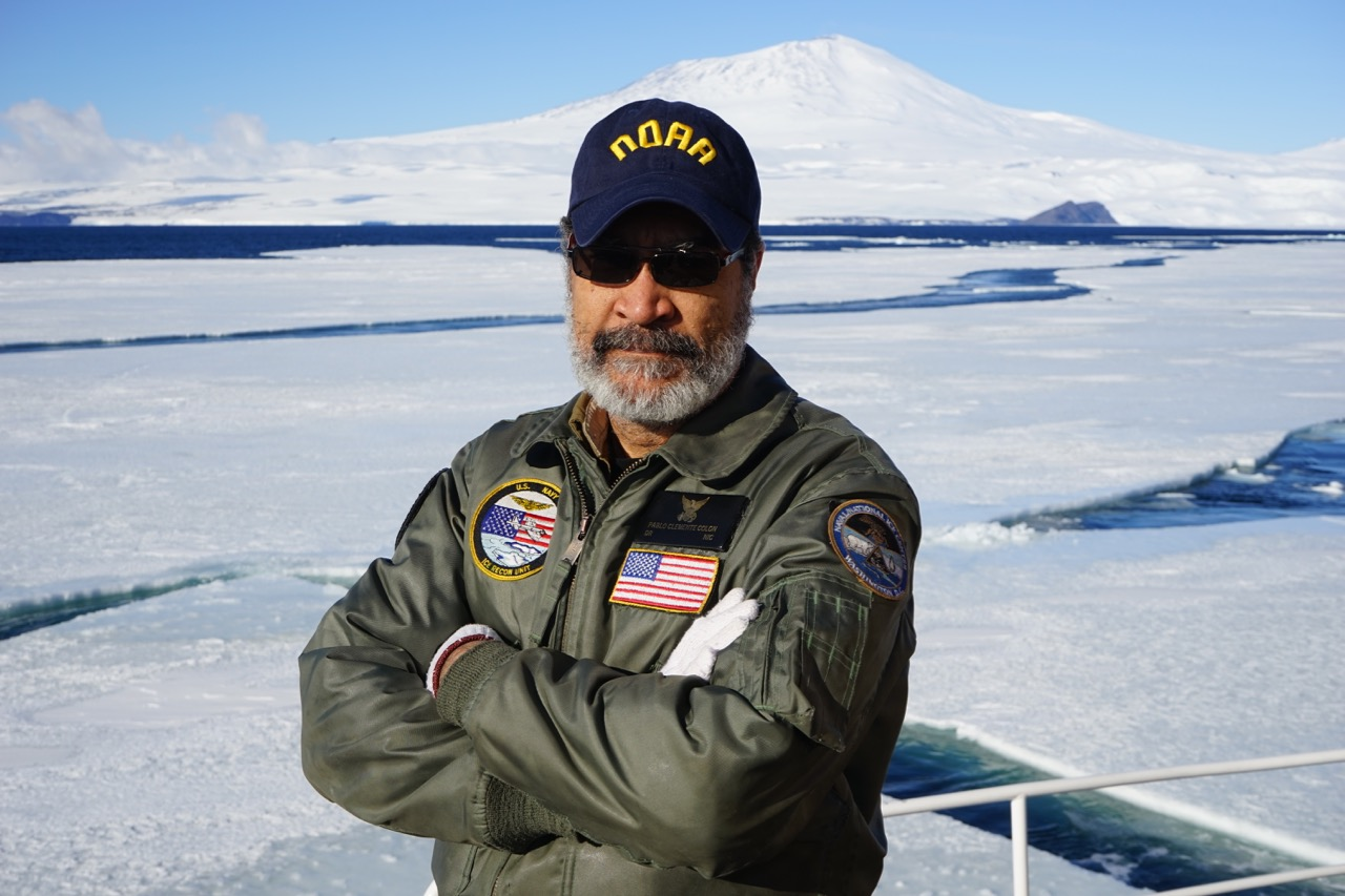 Pablo Clemente-Colón, chief scientist of NOAA's National Ice Center.