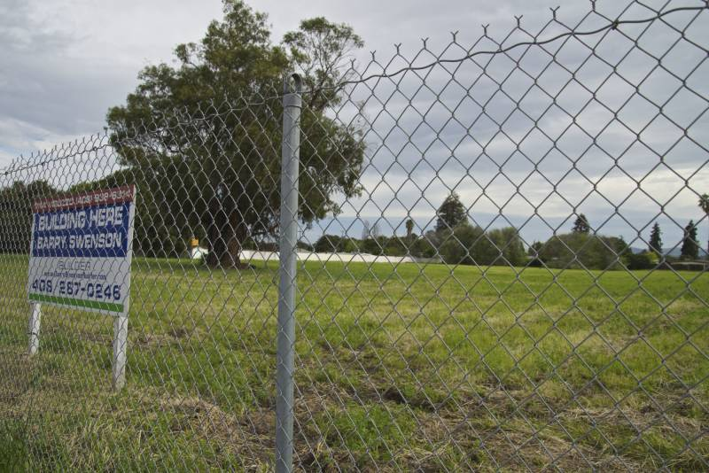 A vacant lot in East Palo Alto may be the future site of a new downtown development when the city secures additional water resources to approve new building projects.