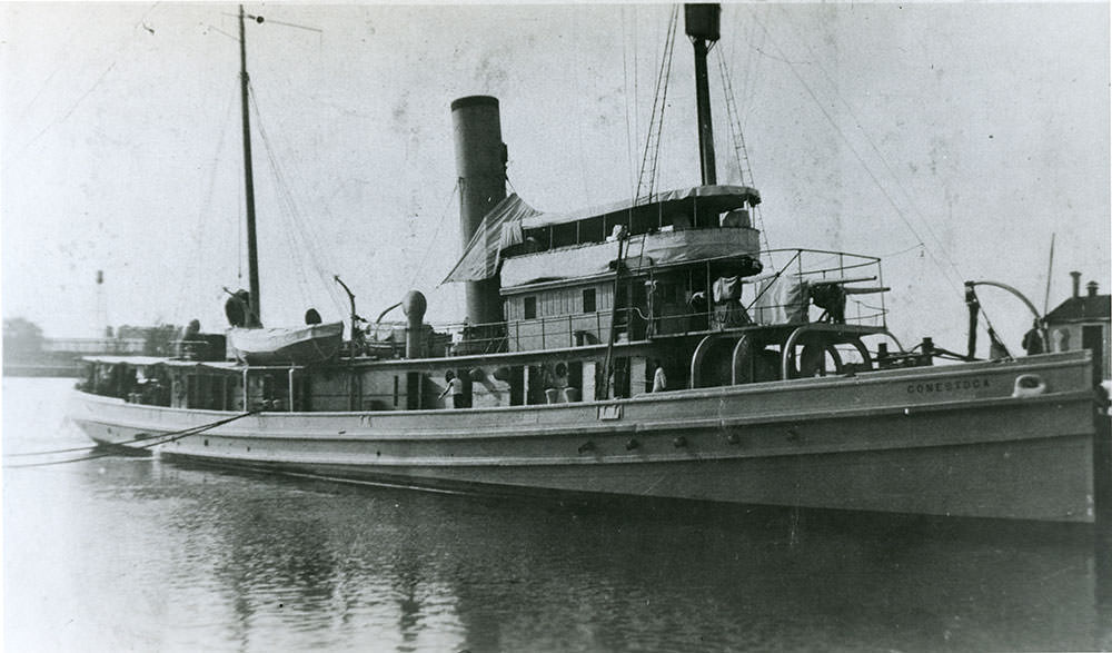 The USS Conestoga.