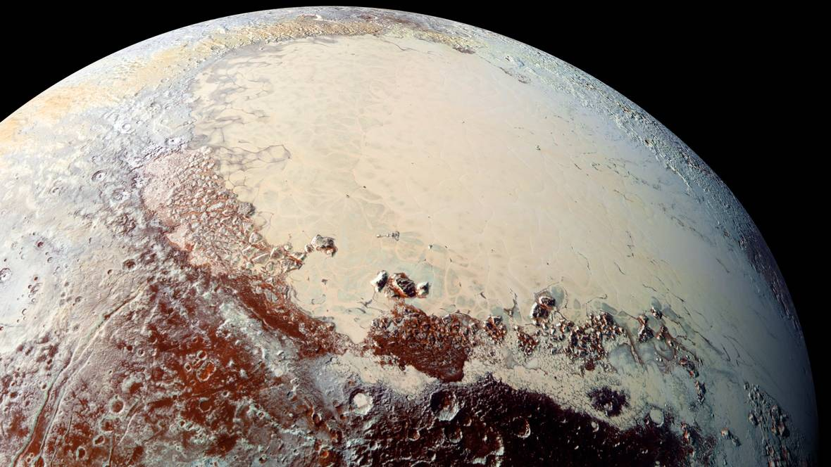 Pluto's Geology: A New World Shimmers Into View