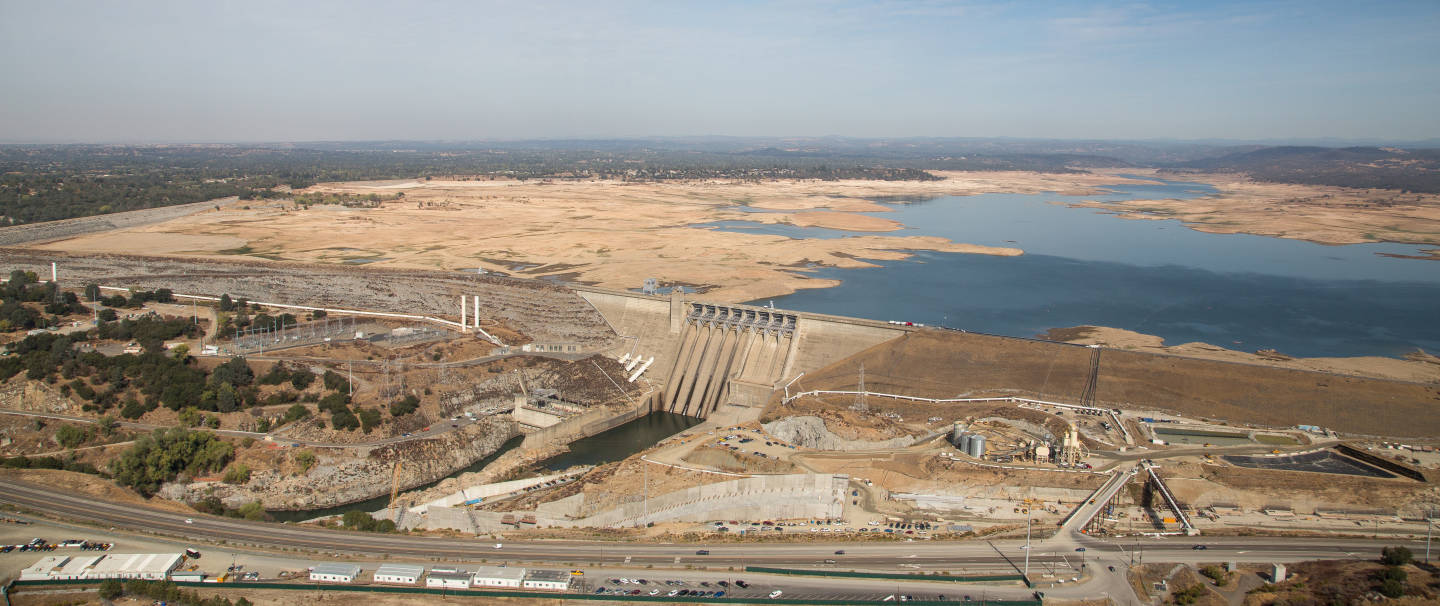 An aerial view of Folsom Lake in October 2015. La Niña would mean higher chances of a dry winter in drought-plagued California  Zack Cunningham