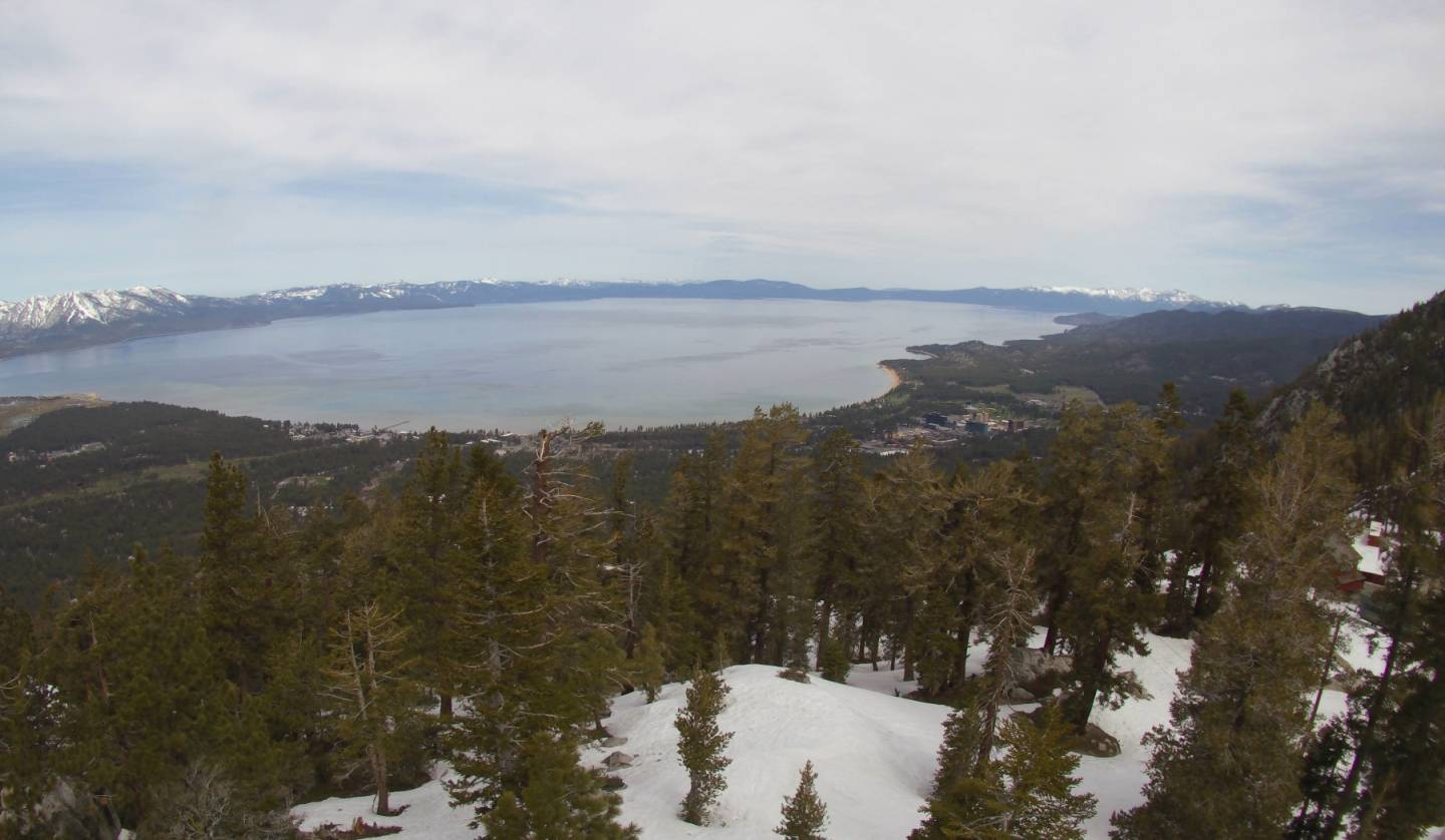 A view of the Heavenly ski area from one of the monitoring cameras.  Nevada Seismological Laboratory