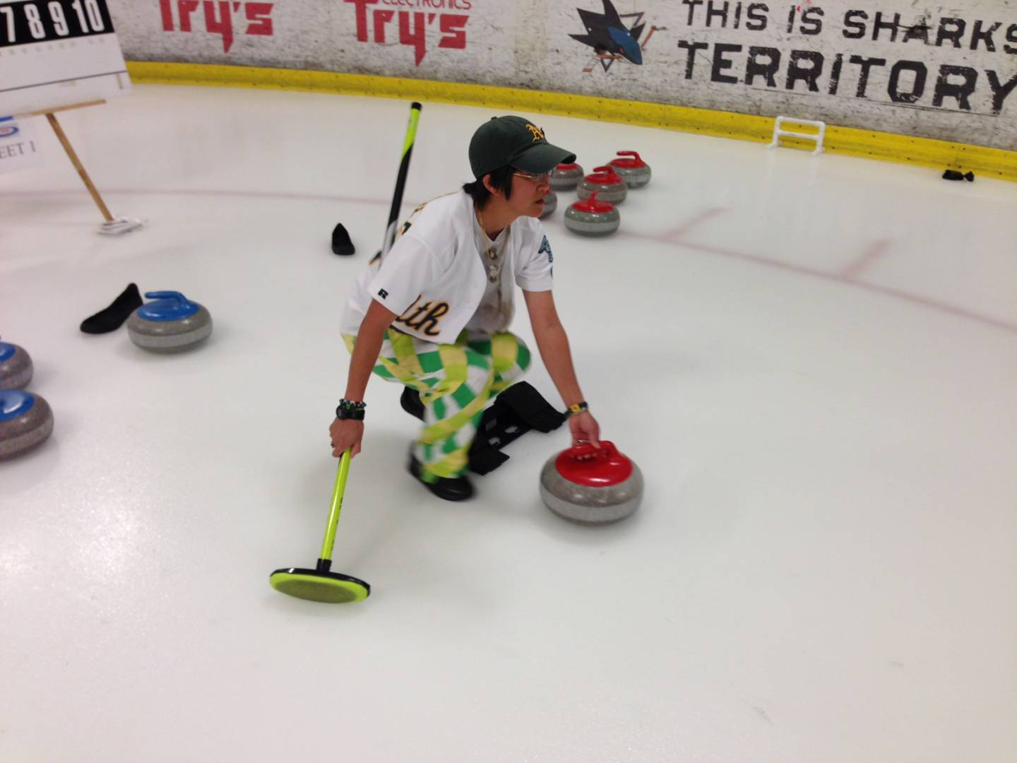 Curlers Sweep into the Bay Area for Holiday Weekend Competition