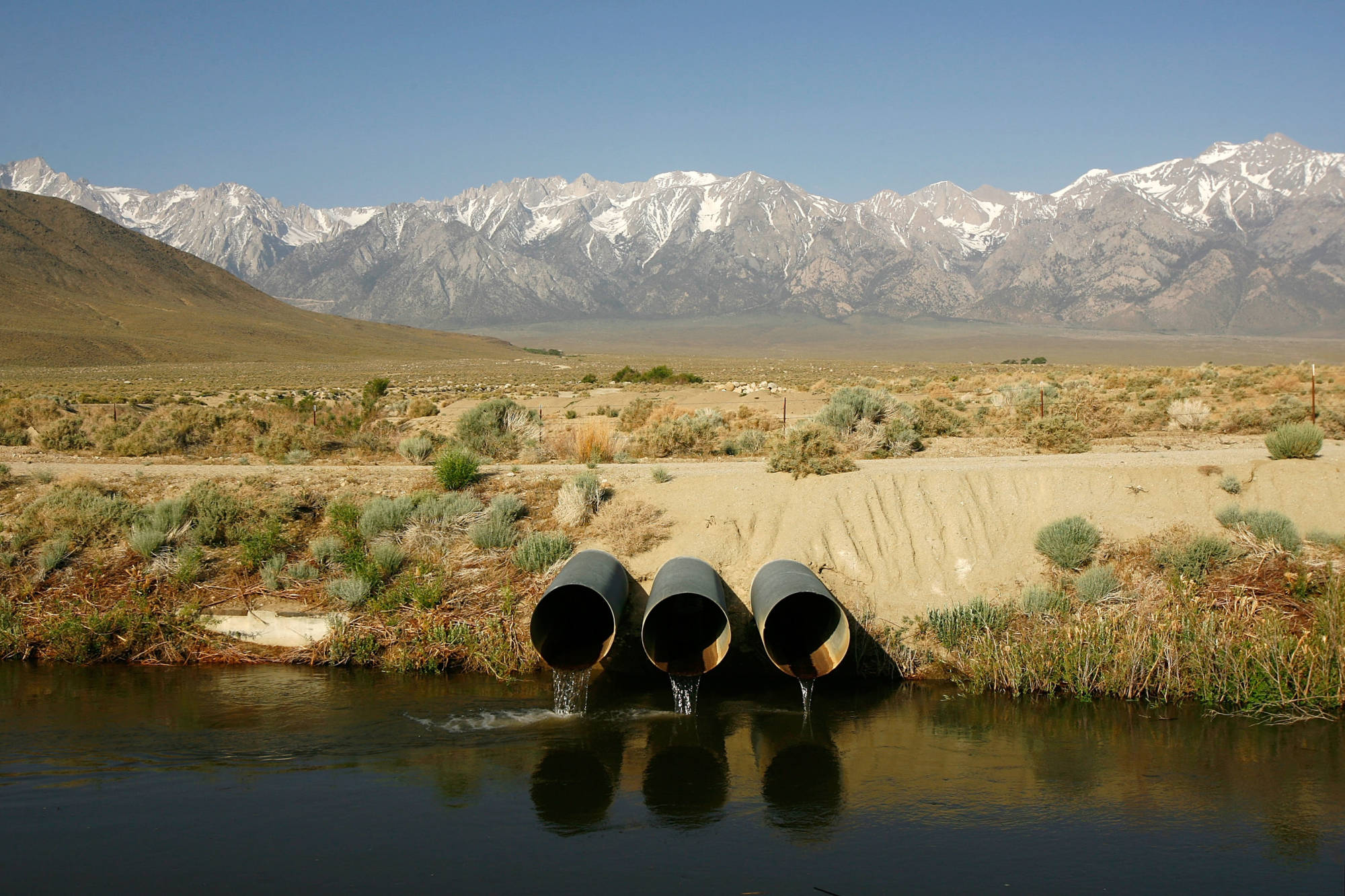 Californians depend on the Sierra snowpack for about a third of their water supply.