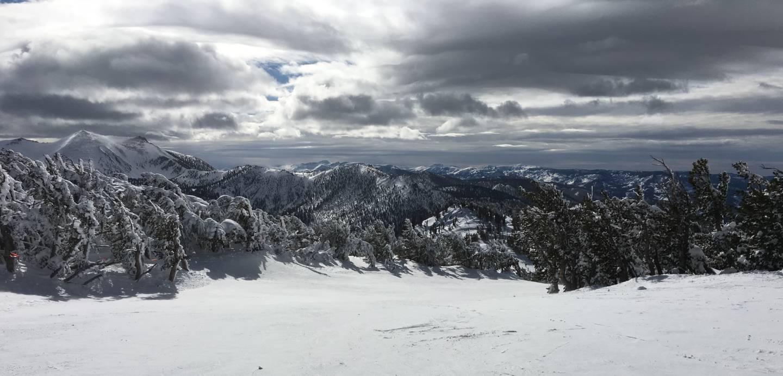 Last winter's Sierra snowpack fell just short of the long-term average. Olivia Allen-Price