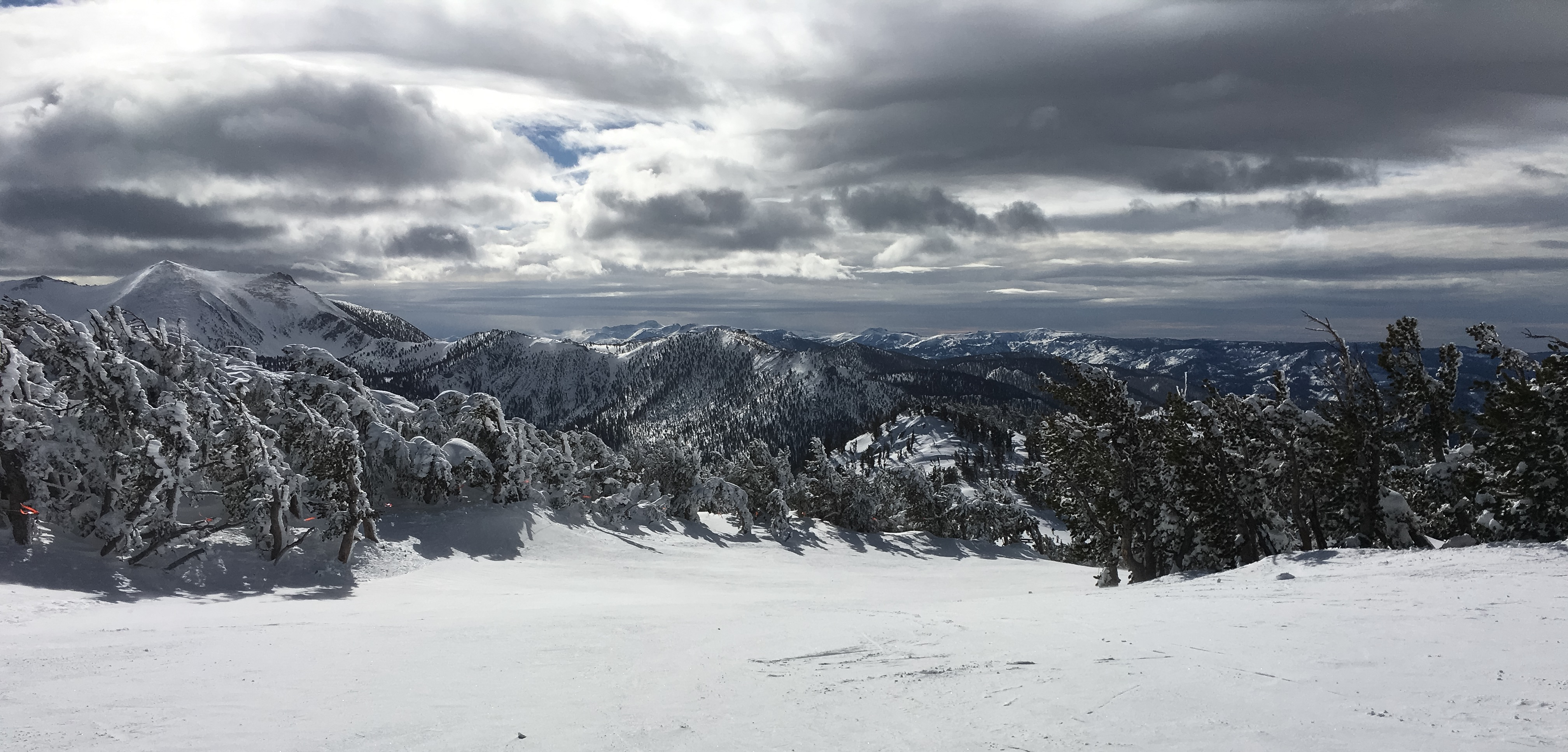 Last winter's Sierra snowpack fell just short of the long-term average.