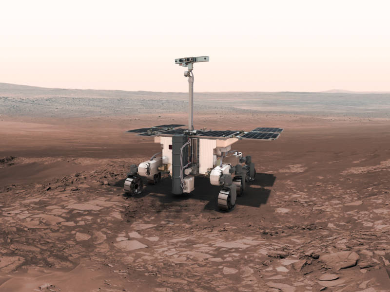 The ExoMars rover, a joint European-Russian mission, is to be assembled by the U.K. arm of the European aerospace giant Airbus. The Brexit could cause export-control problems or other industrial snags that might affect they way it's built.