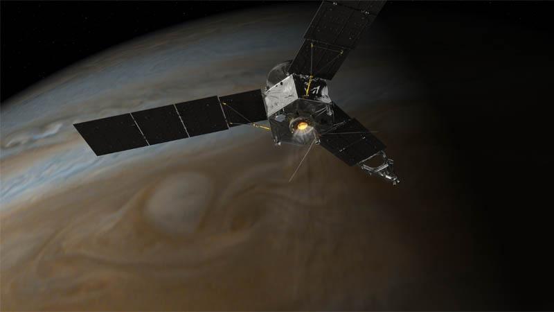 On July 4, Jupiter Gets Its Close-Up