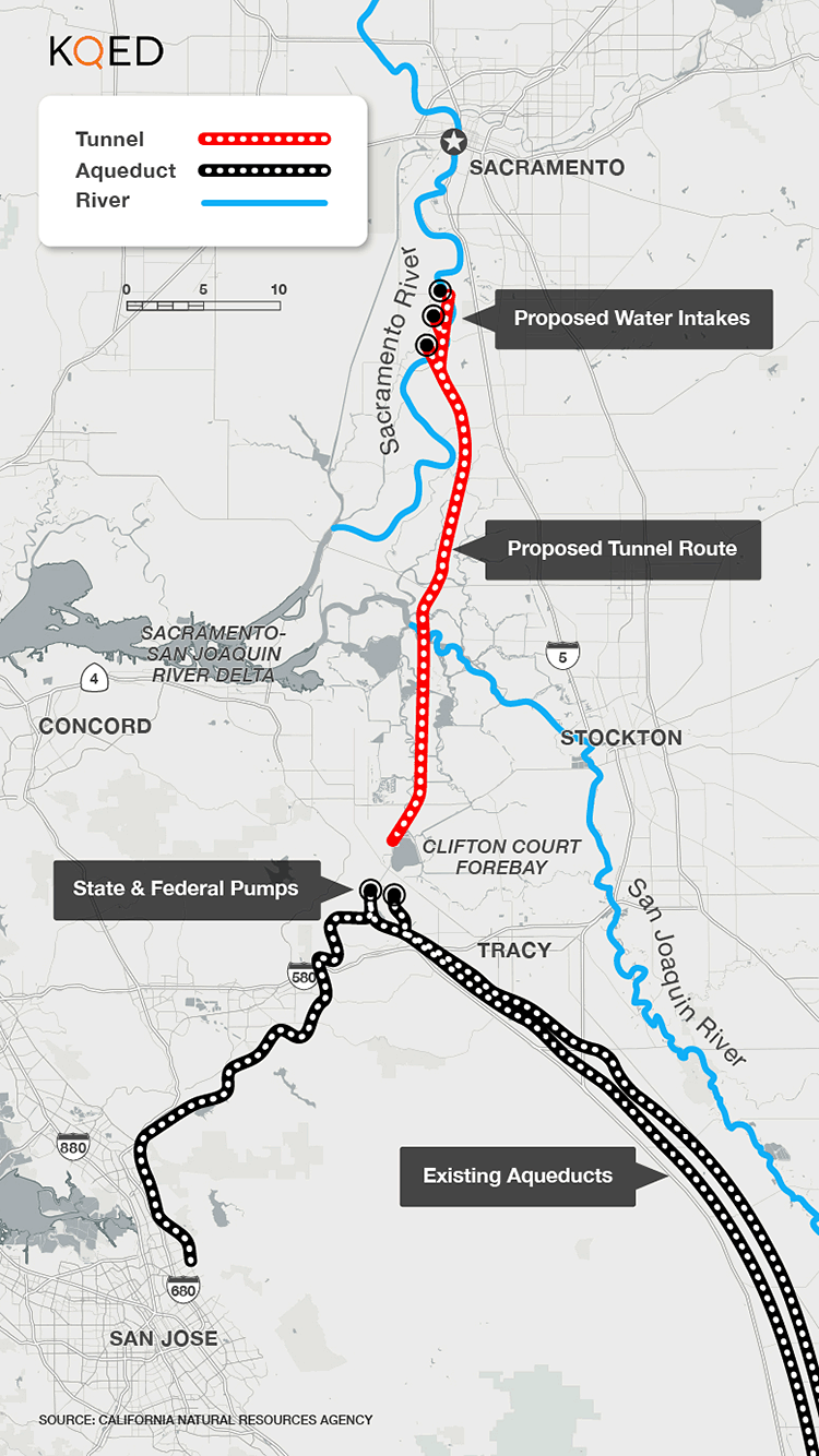 About That Billion Water Project Delta Tunnels Election - Map of underground tunnels in the us