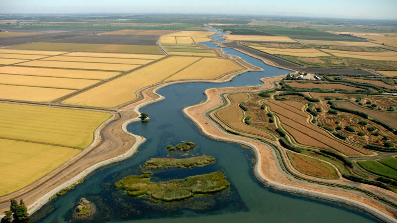 The 30-mile tunnels would be built 150 feet under the Sacramento-San Joaquin Delta.