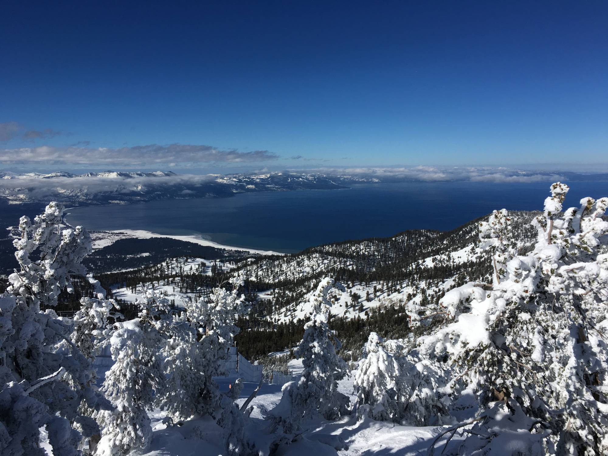 As scientists have long predicted, more winter precipitation at Lake Tahoe is falling as rain, rather than snow.