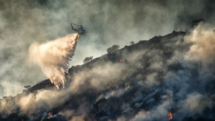 California's persistent drough is fueling wildfires.