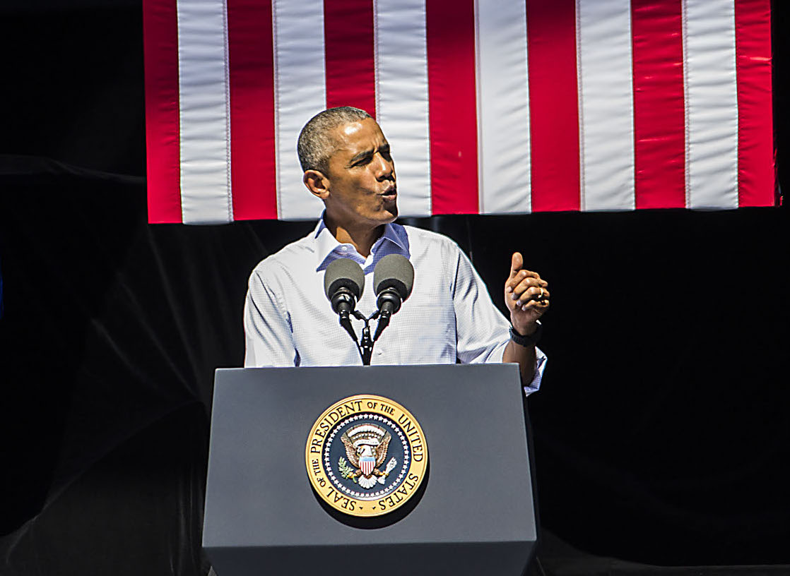 President Obama talks conservation and climate change at the Tahoe Summit.