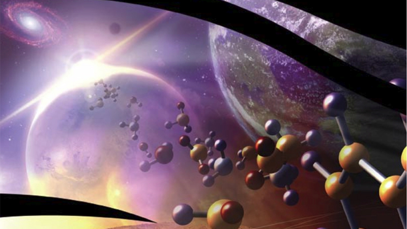 Artist illustration for NASA Astrobiology, Ames Research Center.
