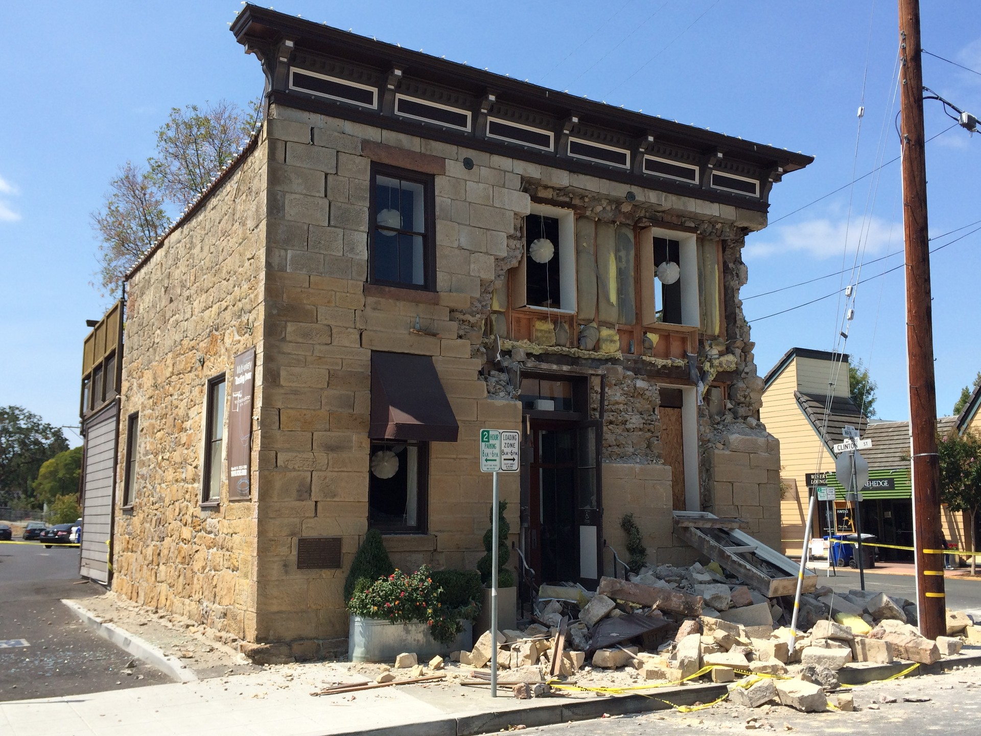 The 2014 earthquake in Napa injured about 200 people and damaged nearly two thousand buildings. Scientists say it should ring the alarm for owners of older buildings to retrofit before the next earthquake hits.