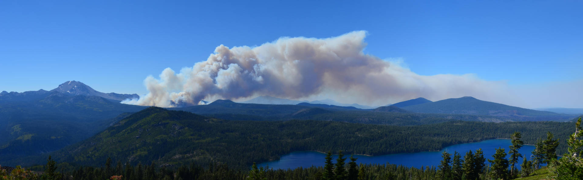 Forest managers lost control of the 2012 Reading Fire in Lassen County. Lassen National Park Service