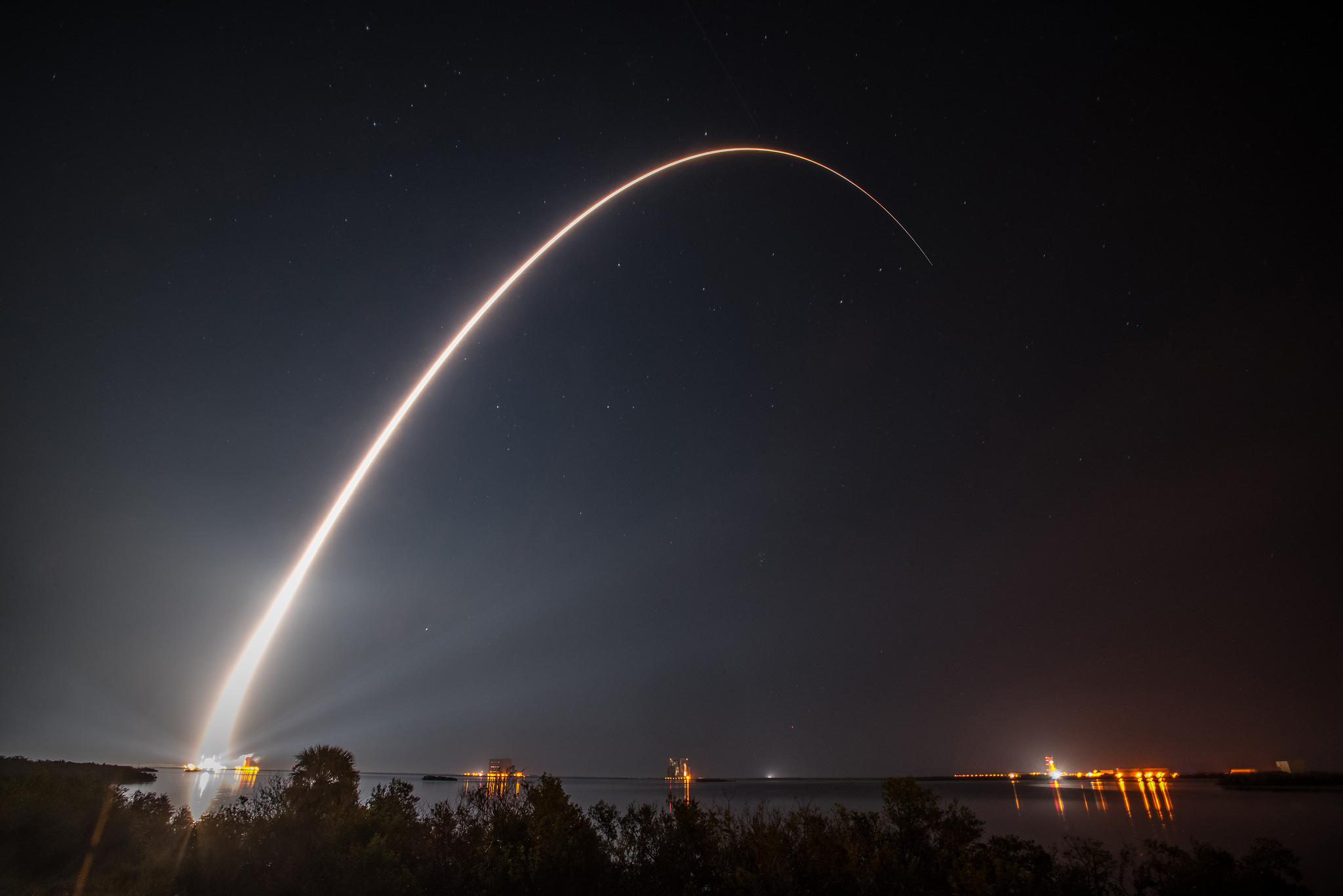 GOES-R lifted off on November 19, 2016 from Cape Canaveral Air Force Station's Space Launch Complex 41, aboard a United Launch Alliance Atlas V 541 rocket. GOES-R is the first of four satellites to be launched for NOAA in a new and advanced series of spacecraft. Once in geostationary orbit, it will be known as GOES-16.