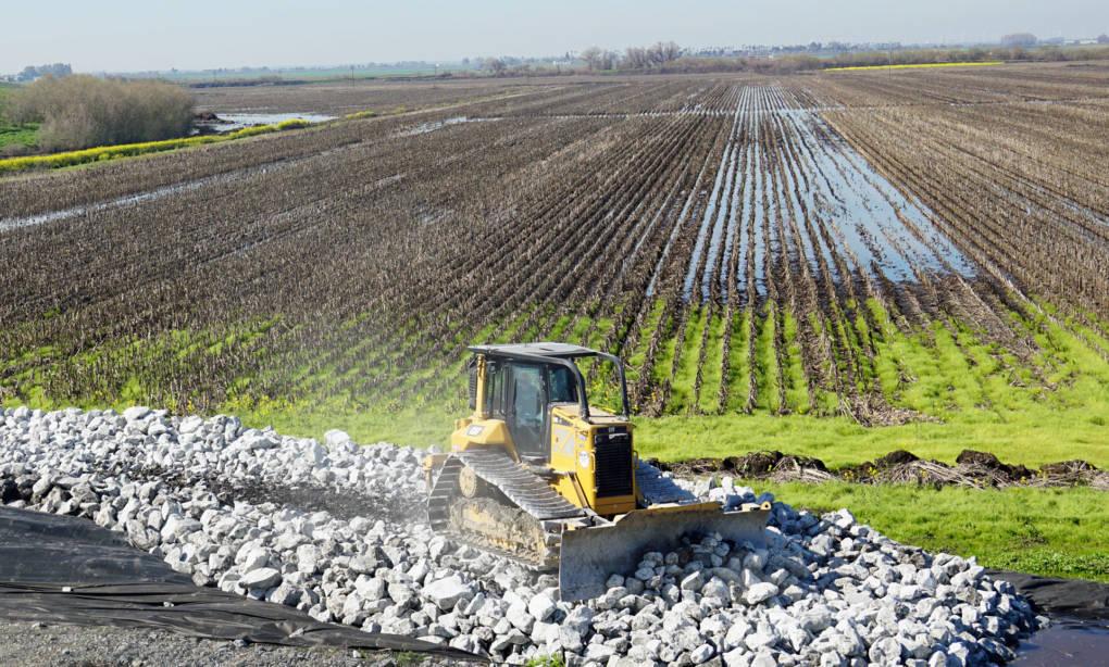 California's backlog of levee maintenance runs hundreds of millions of dollars.