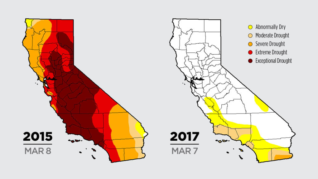 Color Me Dry Drought Maps Blend Art And Science But No Politics - Us droup map california chage