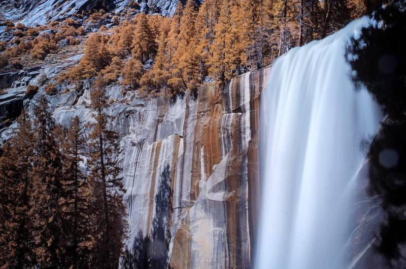 "From @seanservis, on Instagram. ""#vernalfalls"""