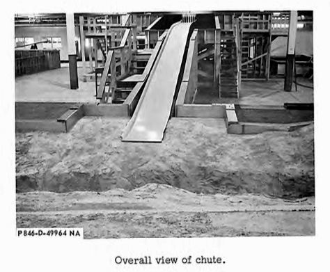 In the 1960s, engineers built scale models of spillways to test them with various water flows and design features.